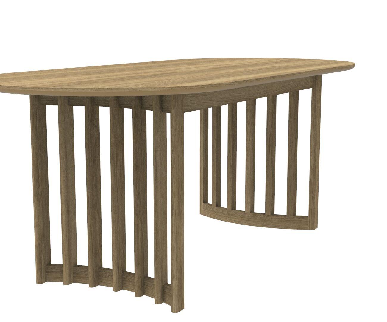 Japandi Inspired Eiko Fixed Dining Table