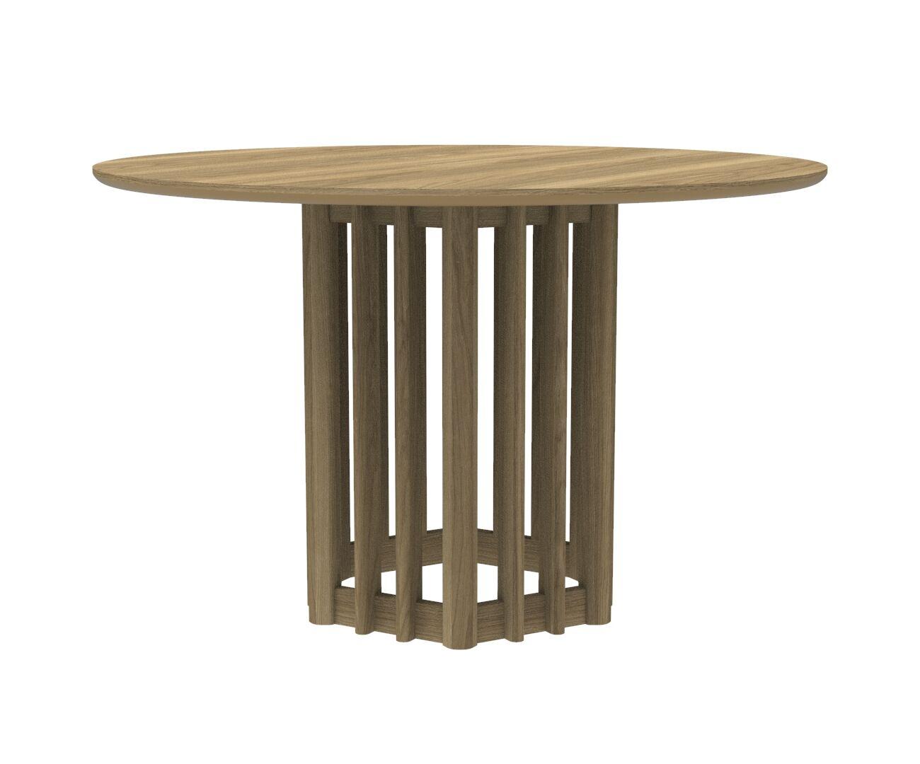 Japandi Inspired Eiko Round Dining Table